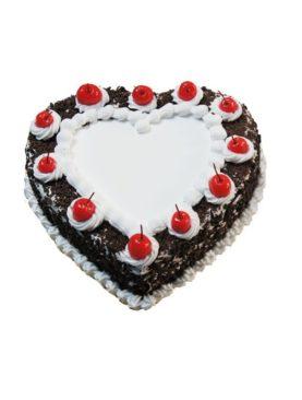 HEART SHAPE EGGLESS CAKE - 1.5KG
