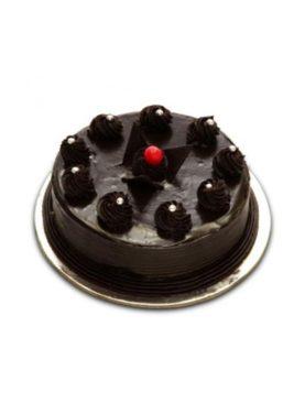 CHOCOLATE TRUFFLE EGGLESS CAKE- 1KG