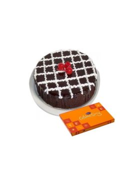 CHOCOLATE TRUFFLE CAKE N CELEBRATION COMBO2